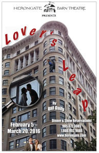 Lover's Leap Poster