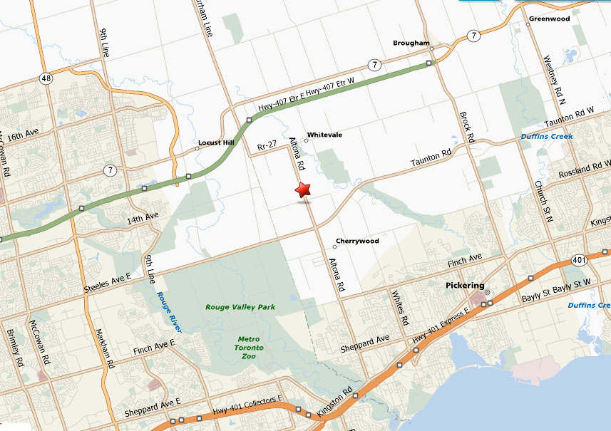 Map 401.Find Us Map